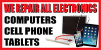 2'x4' CELL PHONE, COMPUTER, TABLET REPAIR BANNER SIGN  - screen repair iphone