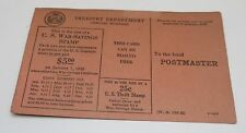 War Savings Stamp Order Form Boy Scouts of America Postcards WW1 *SHIPS FREE*