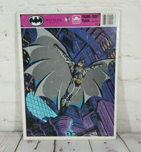Golden Frame-Tray Puzzle - Batman Returns - 1992 - DC Comics