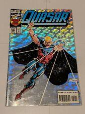 Quasar #50 September 1993 Marvel Comics Foil Holo-Grafx Cover