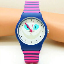 Children Watch Cat Fashion Silicone Wristwatches Cartoon Kid Watches Girls Gifts
