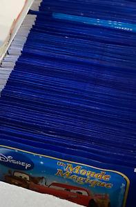 Panini Carrefour Disney Monde Magique lot 100 pochettes soit 400 images NEUVES !