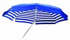 Maffei ombrellone palo centrale Venezia Art.181A blu/riga cotone d.200 cm