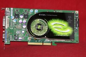 EVGA NVIDIA GeForce 7800GS CO, 256MB GDDR3, AGP Graphics Card. (256-A8-N506-AX)