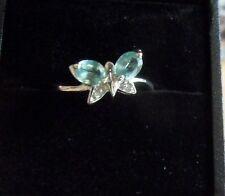 Mint - Kyanit - Ring, Gr. 17, 925er Sterlingsilber, rhodiniert, ungetragen