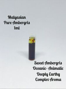Grey Ambergris High Grade Thick  Oil 1ml Attar/Ittar