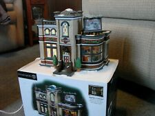 DEPT 56 CHRISTMAS IN THE CITY HARLEY DAVIDSON DETAILING PARTS & SERVICE RETIRED