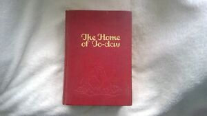 Vintage Book 'The Home of Today' Daily Express Publication London for the 1930's