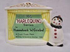 Vintage Goebel Hummel - Harlequin Series - Sign - Rare