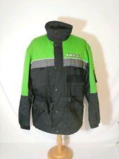 Kawasaki Team Mens Sz 2XL XXL Racing Motorcycle Snowmobile Jacket Embroidered