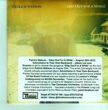 (CX717) Patrick Watson, Step Out For A While - 2012 DJ CD