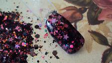 glitter mix nail art acrylic gel     FANTASIA