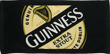 Guinness Label Cotton Bar Towel   490mm x 230mm   Licensed (sg)