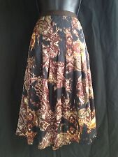 NWT!! Jones New York Collection Multi Color Skirt Very Pretty Retail $119.00