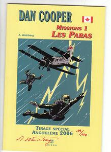 DAN COOPER Missions 1 Les Paras. Spécial Angoumême 2006