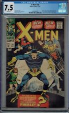 CGC 7.5 X-MEN #39 WHITE PAGES NEW COSTUMES BLOB MASTERMIND BANSHEE APPEAR