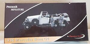 Signature Models Mercedes Benz 1938 G4 Premier Miniature 1/18 Scale DieCast Limo