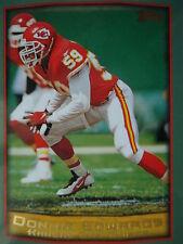 NFL 244 Donnie Edwards Kansas City chef topps 1999