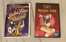 Make Mine Music (DVD, 2000, Disney Gold Collection Edition) & Melody Time
