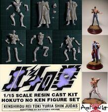 ANIME MODEL RESIN KIT 1/15 - 北斗の拳 Hokuto no Ken SET 6  PERSONAGGI RARISSIMO