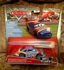 DISNEY PIXAR CARS Sage Vanderspin Gask-Its WITH PIT STOP BARRIER 1:55 Intl RARE