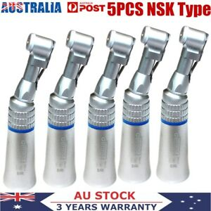 5PCS Dental Slow Low Speed Contra Angle Handpiece E-Type Latch Burs NSK Style!!!