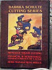 Barbara Schulte CUTTING Horse Training video DVD