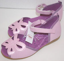 NWT Girls Disney Tinkerbell Purple Shoes Size 1