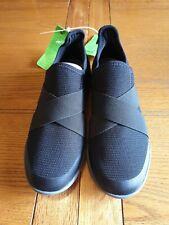 Crocs Womens Swiftwater Cross-Strap Static Black Shoes - UK Size 5 - BNWT!