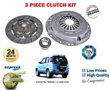 FOR DAIHATSU TERIOS 1.3 + 4WD + 4X4 2001-> NEW 3 PIECE CLUTCH KIT COMPLETE