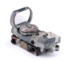 Camo Riflescope Optics Scope Holographic Red/Green Dot Sight Reflex 4 Reticle