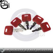 5pcs/lot Keys For John Deere 110 120 120C 120D 130G 135C 135D 135G 160C 160DLC