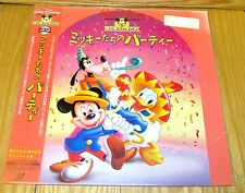 WALT DISNEY CELEBRATE WITH MICKEY MOUSE LASERDISC BRAND NEW & FACTORY SEALED