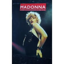 MADONNA THE NEW ILLUSTRATED BIOGRAPHY BY DEBBI VOLLER 106 PAGES 1990