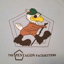 Vtg Pentagon Pacesetters t shirt M/L 50/50 walking club