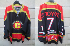 VINTAGE Maillot hockey ice ALLEMAGNE GERMANY shirt trikot DEUTSCHLAND jersey XL