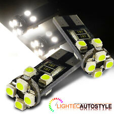 2x CANBUS ERROR FREE 8 SMD LED XENON HID PURE WHITE W5W T10 501 SIDE LIGHT BULBS