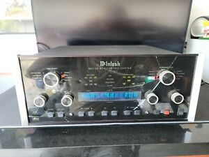 McIntosh MX 132 A/V Control Center Preamp BROKEN FACE PLATE WORKING CONDITION