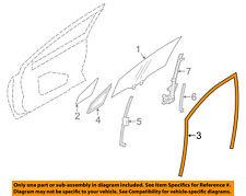 SUBARU OEM 12-15 Impreza Front Door-Run Channel Left 63527FJ010