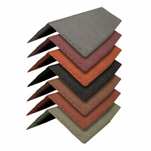Tapco Synthetic Ridge & Hip Tile -Conservatory Porch Garage Shed Plastic Shingle