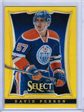 13/14 ROOKIE ANTHOLOGY SELECT DAVID PERRON #452 GOLD PRIZM /10 EDMONTON OILERS