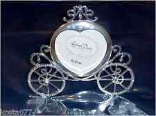 Lisbeth Dahl Designs, 80 x 80mm Silver Finished Photo Frame, Cinderella Carriage
