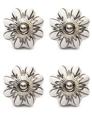 4 Pcs Ceramic Drawer Knobs Door Cupboard Pulls Handles Kitchen Knob White Gray