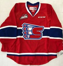 New Authentic Pro Stock CCM Spokane Chiefs Hockey Player Jersey 56 7287 WHL CHL