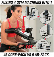 Core ab trainer exerciser workout gym fitness machine abs equipment