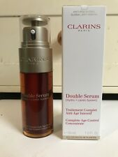 Clarins Double Serum Complete Age Control Concentrate 50ml New ! FREE P&P