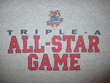 TRIPLE A ALL STAR GAME T SHIRT Toledo Mud Hens 2006 Minor League Baseball XL