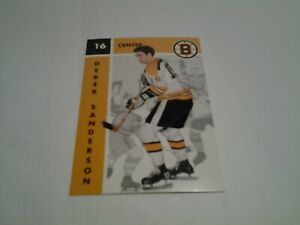 1995-96 PARKHURST RETRO ( 1965-66 )  # 19 DEREK SANDERSON   (SEE DESCRIPTION)