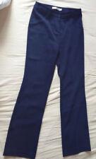 Pantalon tailleur très bonne qualité et confortable femme bleu marine taille S