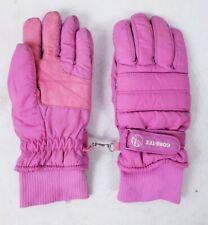 Goretex Women's Ski Gloves Medium Pink Thinsulate